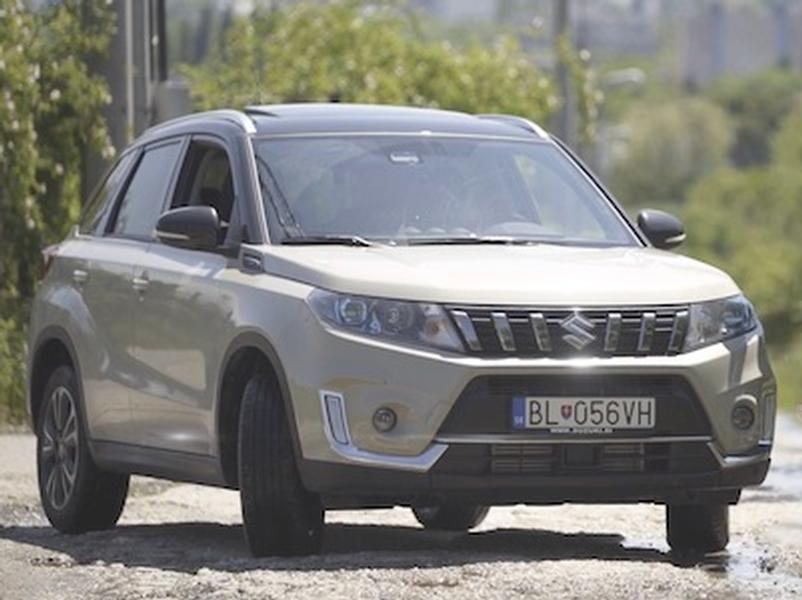 Video test Suzuki Vitara 1.4 BoosterJet 2WD