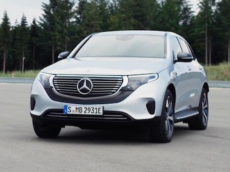 Video test Mercedes-Benz EQC 400