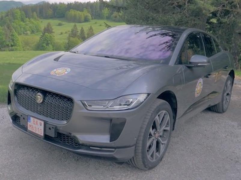 Video test Jaguar I PACE 4WD