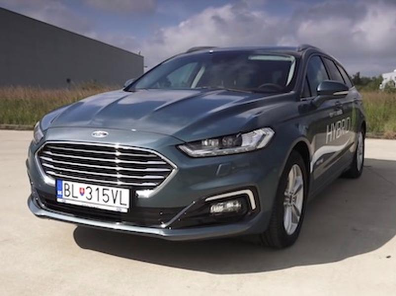 Video test Ford Mondeo Combi Hybrid