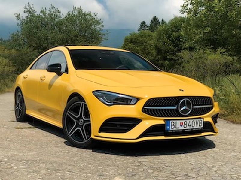 Video test Mercedes-Benz CLA 180d