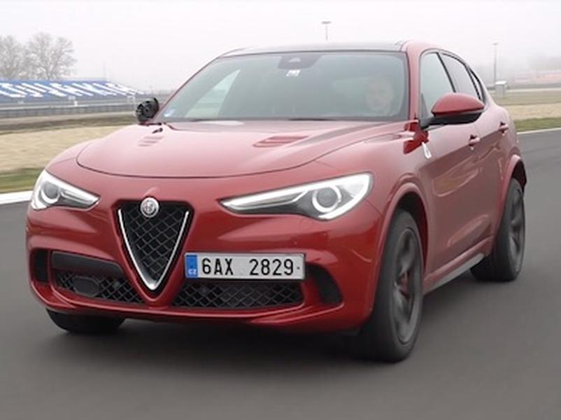 Video test Alfa Romeo Stelvio QV