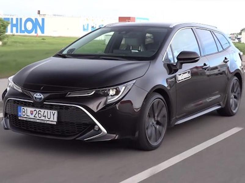 Video test Toyota Corolla Touring Sports Hybrid