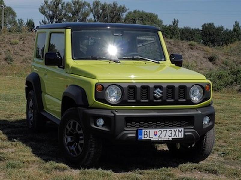 Video test  Suzuki Jimny 1.5 VVT 4WD