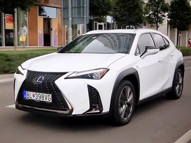Video test Lexus UX 250h