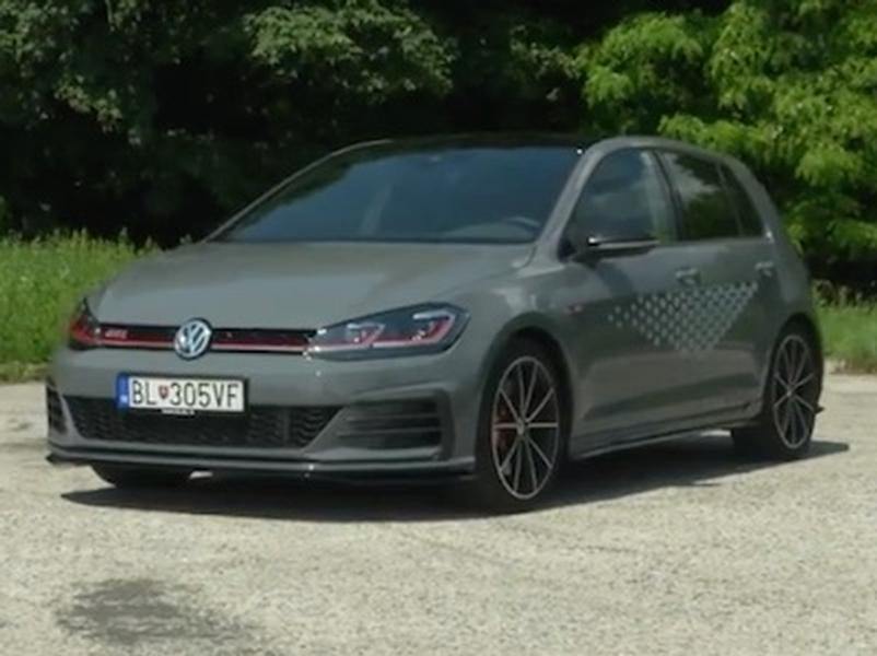 Video test Volkswagen Golf GTI TCR