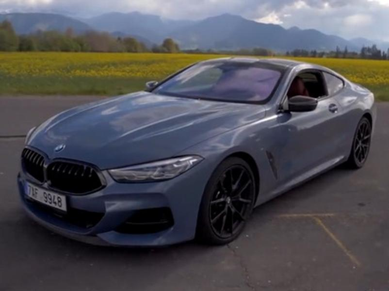 Video test BMW M850i xDrive
