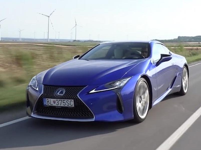 Video test Lexus LC500h