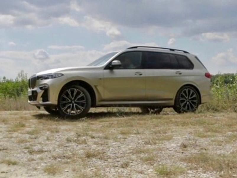 Video test BMW X7 M50d vs. Dacia lodgy 1.5 dCi