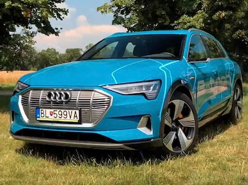 Video test Audi E-tron Quattro