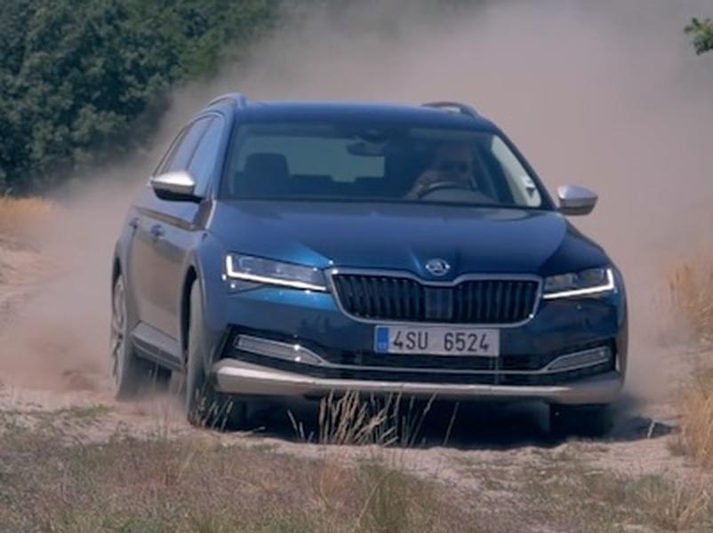 Video test Škoda Superb Scout 2,0 TDI 4x4