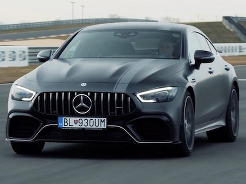 Video test Mercedes AMG GT63s