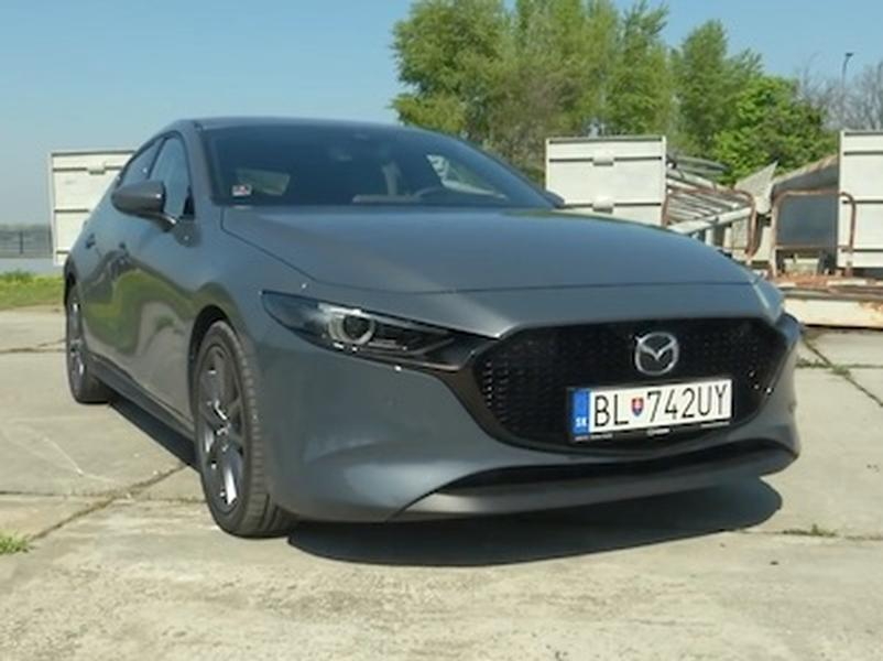 Video test Mazda 3 Skyactiv G122 AT