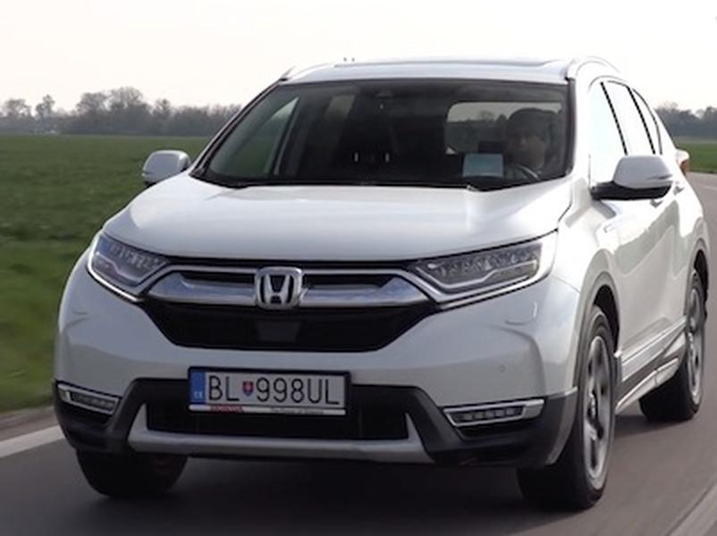Video test Honda CR-V Hybrid