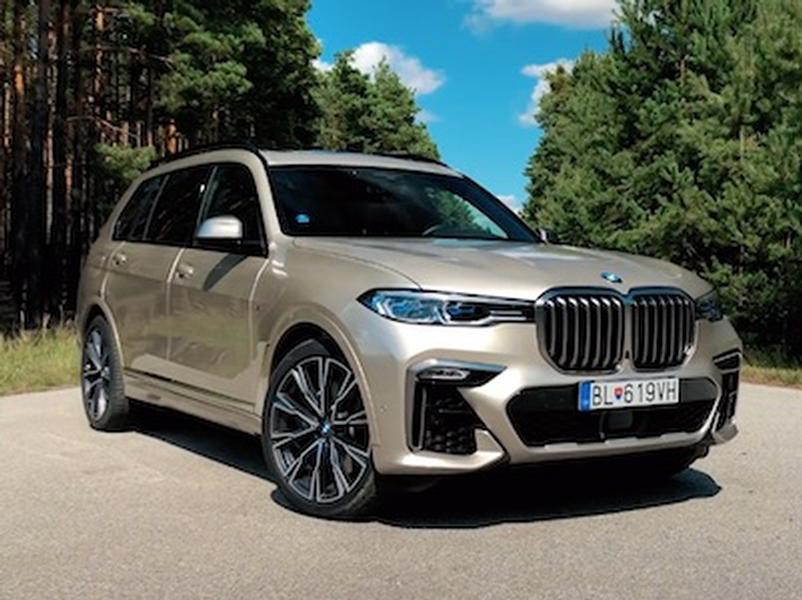 Video test BMW X7 M50d