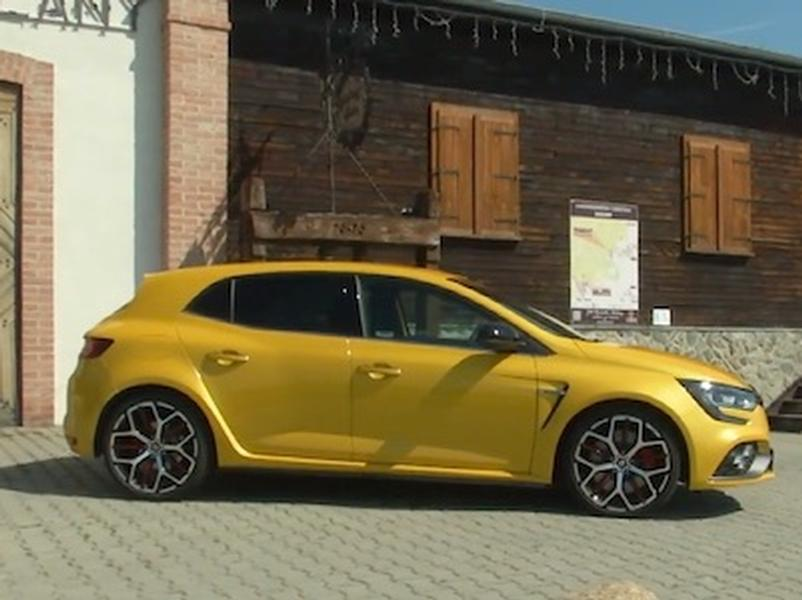 Video test Renault Megane R.S. Trophy 300