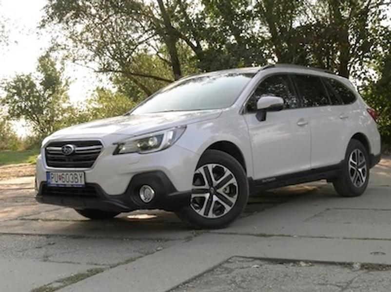 Video test Subaru Outback 2.5i-S