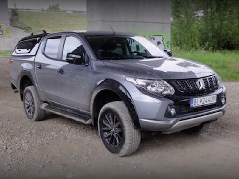 Video test Mitsubishi L200 Black Edition