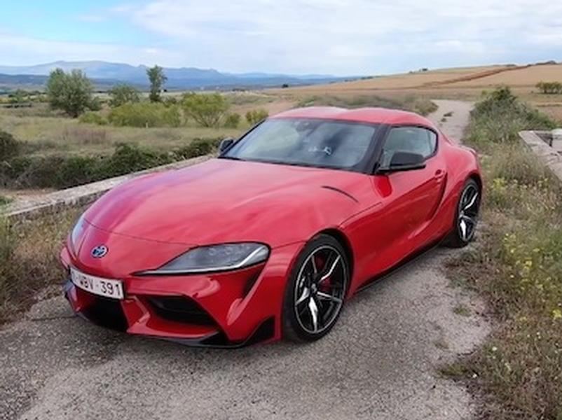 Video test Toyota GR Supra