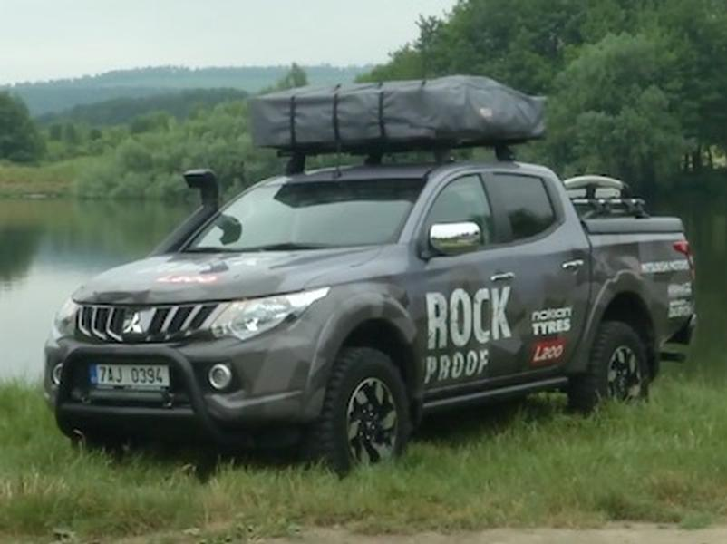 Video test Mitsubishi L200 Rock Proof
