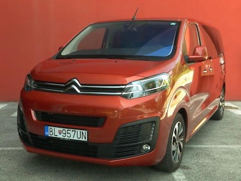 Video test  Citroen Spacetourer