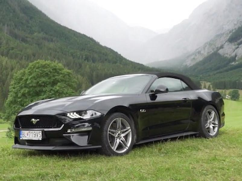Video test Ford Mustang 5.0 V8 GT Convertible