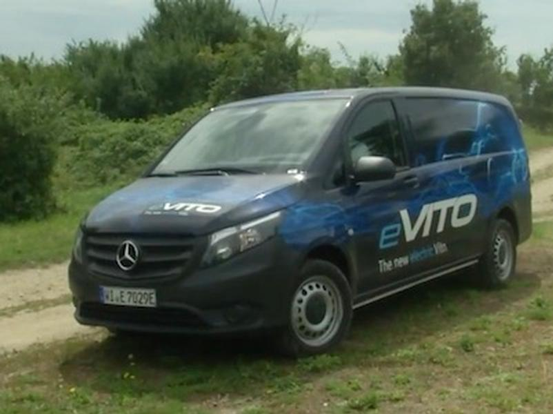 Video test Mercedes Benz eVITO