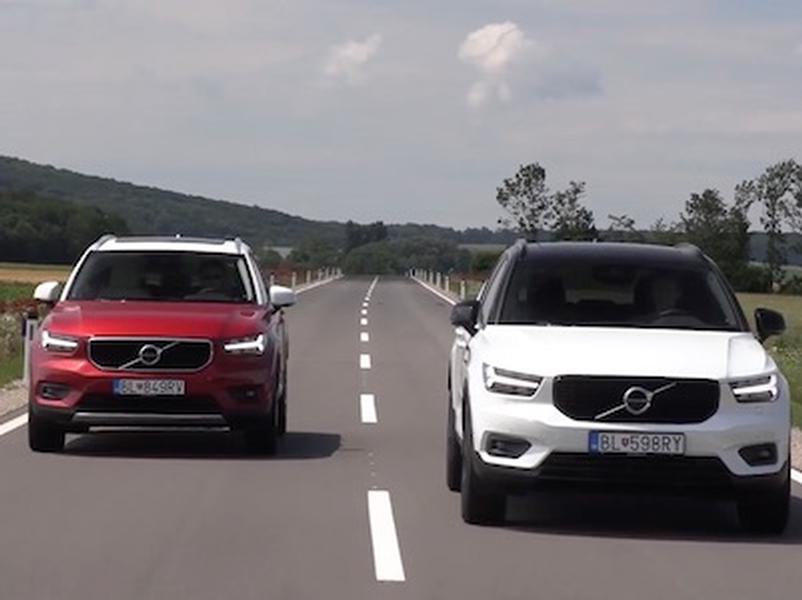 Video test Volvo XC40