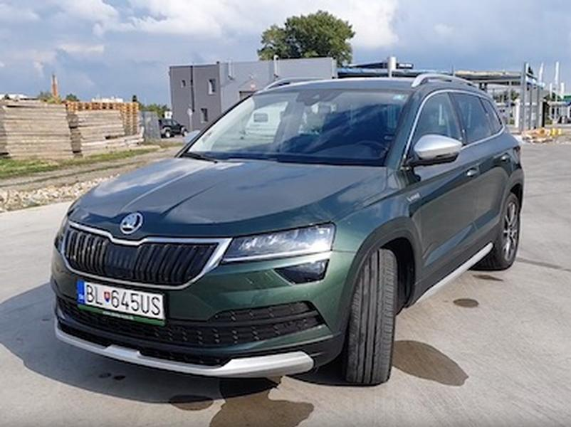 Video test Škoda KAROQ SCOUT
