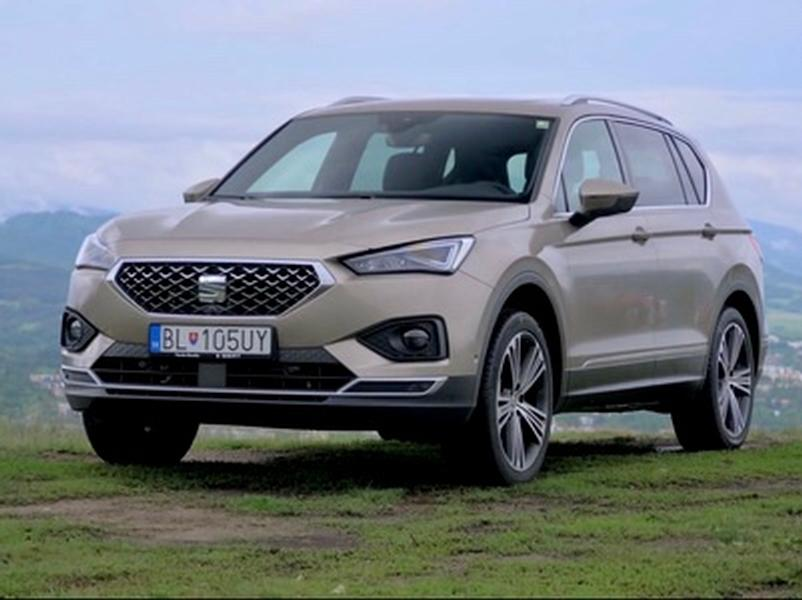 Video test Seat Tarraco 2.0 TSI 4Drive