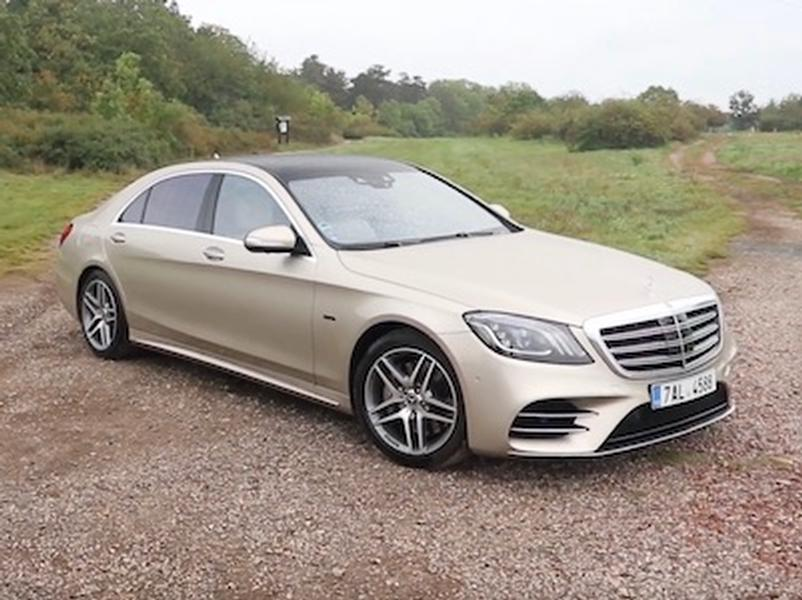 Video test Mercedes S 560e