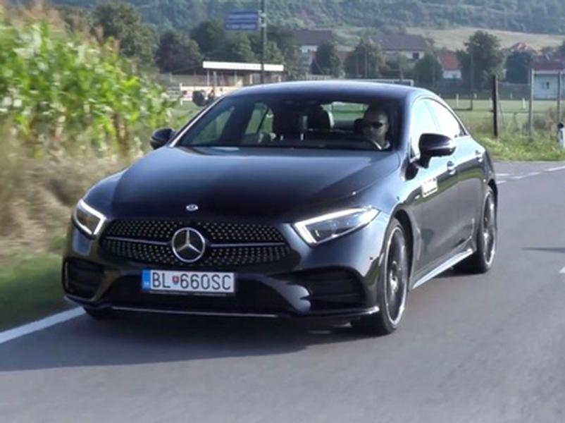 Video test Mercedes CLS 400d