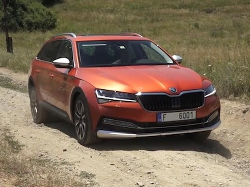 Video test Škoda Superb Scout