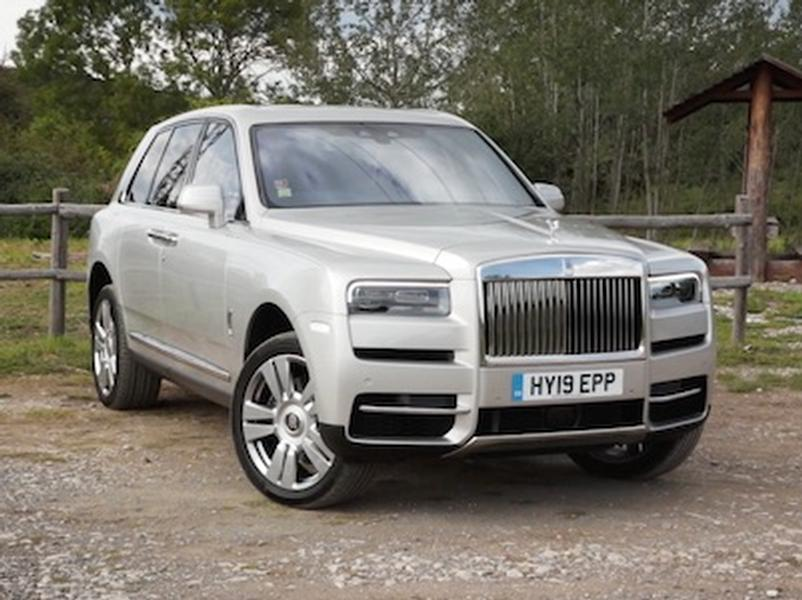 Video test Rolls-Royce Cullinan