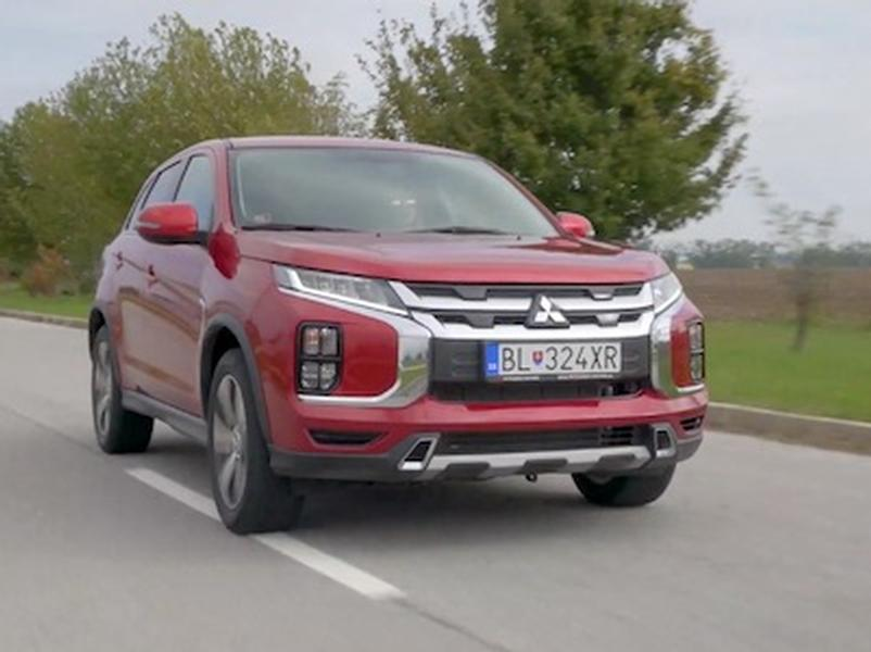 Video test Mitsubishi ASX 2.0 AWD