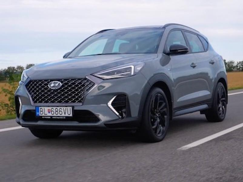 Video test Hyundai Tucson N-Line