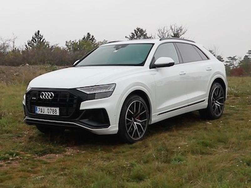 Video test Audi SQ8 TDI