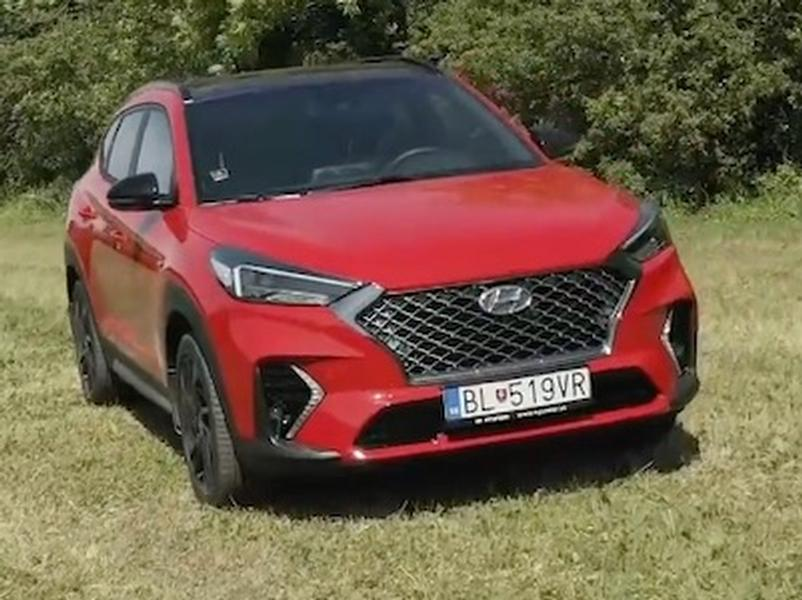Video test Hyundai Tucson N Line