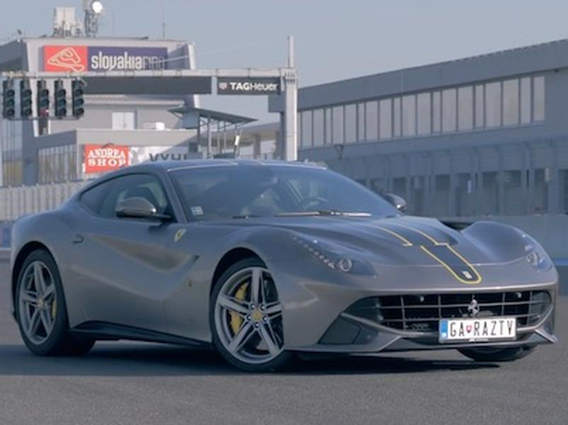 Video test Ferrari F12 Berlinetta V12
