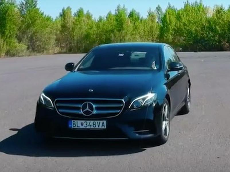 Video test Mercedes E 300 de