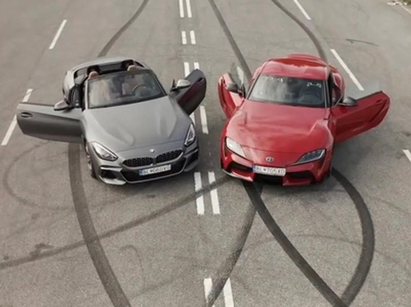 Video test Toyota GR Supra vs BMW Z4 M40i