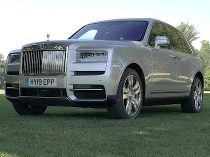 Video test Rolls Royce Cullinan