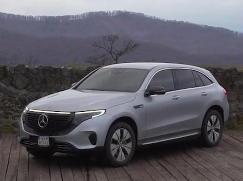 Video test Mercedes-Benz EQC 400d