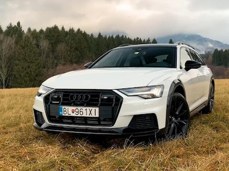 Video test Audi A6 50 TDI Allroad