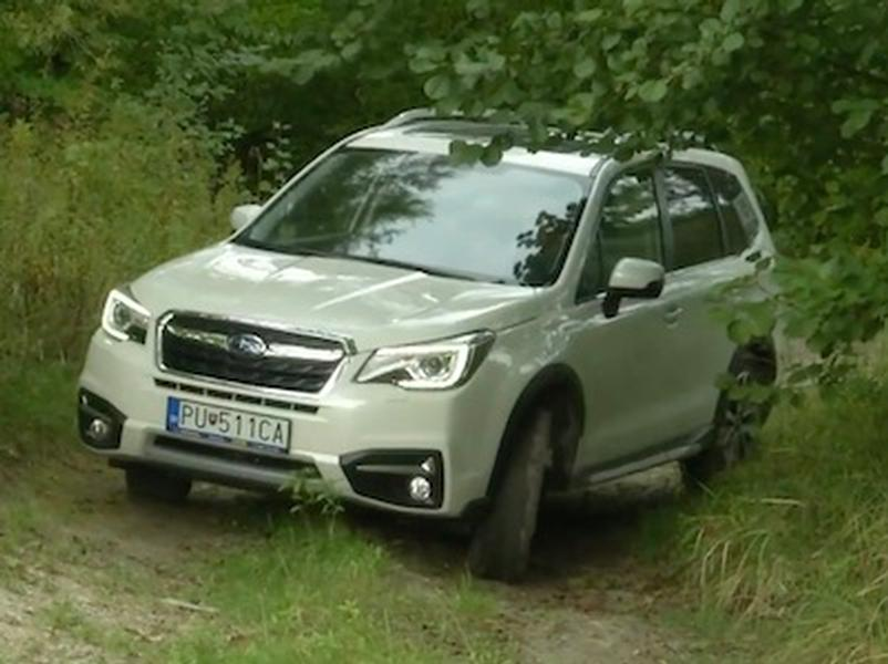 Video test Subaru Forester 2.0i CVT