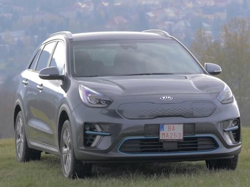Video test KIA e-Soul a e-Niro