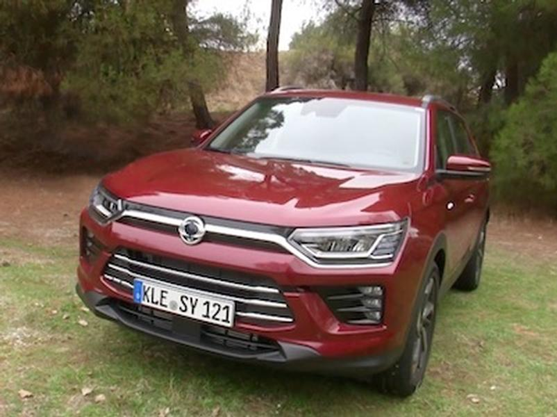 Video test Ssangyong Korando