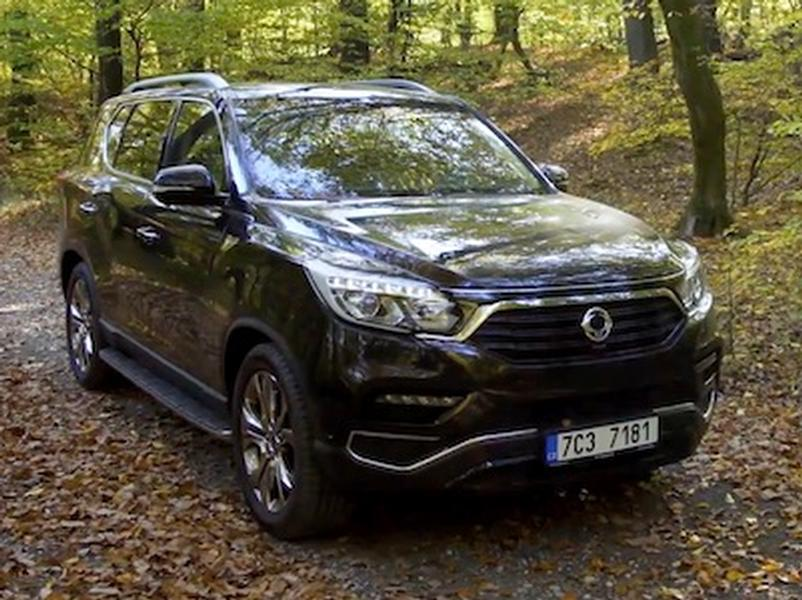 Video test SsangYong Rexton