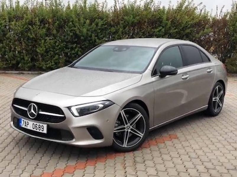 Video test Mercedes-Benz A 200