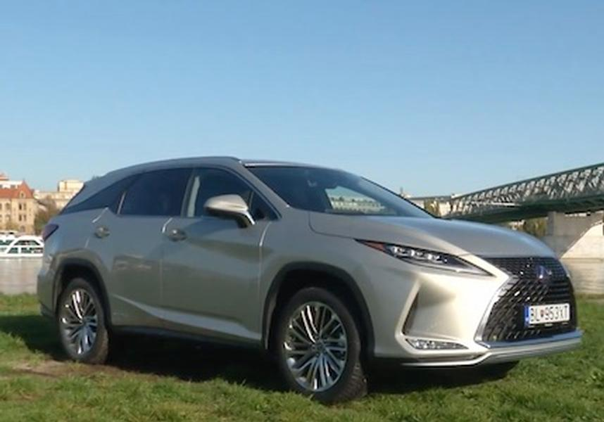 Video test Lexus RX450h L
